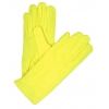 Nylon Gloves With Snap Neon Yellow